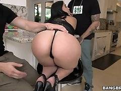 Valerie Kay is about to get a double dose of big dicks! Jmac and Bruno Dickemz are horny and ready to attack that big ass of Valerie`s.