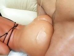 Fantastic latina gets fucked anally