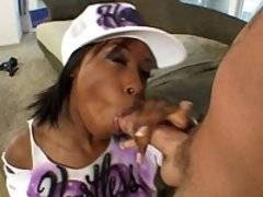 Adora sucking back a load of cum